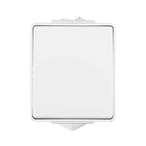 Efapel Przycisk pojedynczy biały ip65 waterproof (5603011636166)