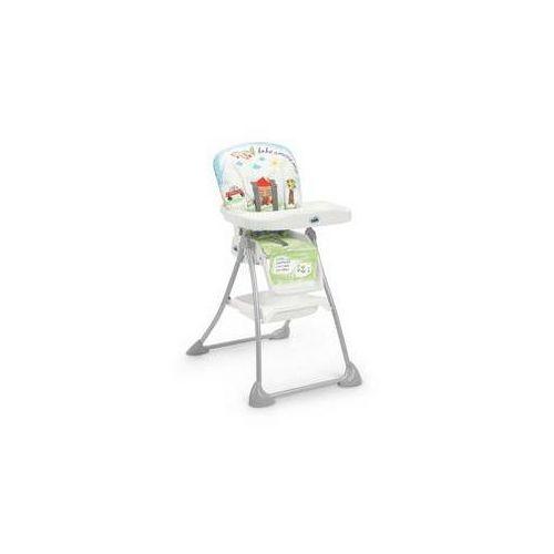 Krzesełko do karmienia mini plus szara/biała/niebieska/zielona marki Cam