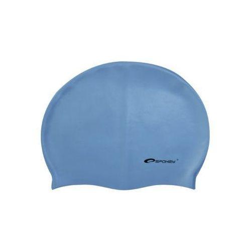 Czepek silikon flexi niebieski 82283 marki Spokey