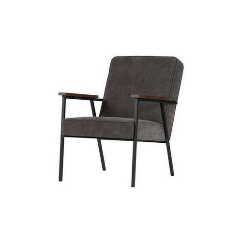 WOOOD:: Fotel SALLY ciemnoszary, kolor szary