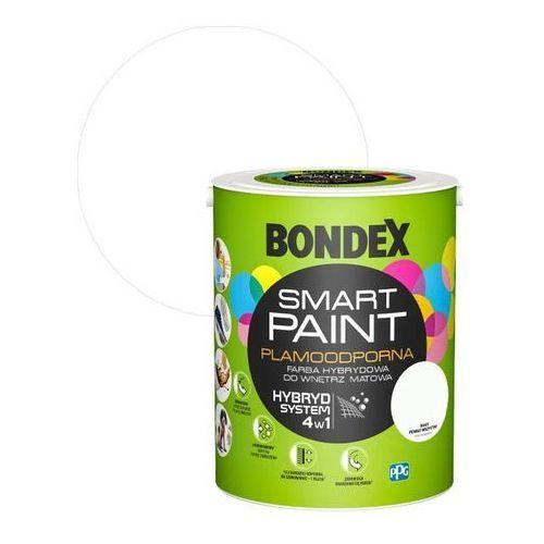 Farba hybrydowa Bondex Smart Paint biały ponad wszystko 5 l, kolor biały