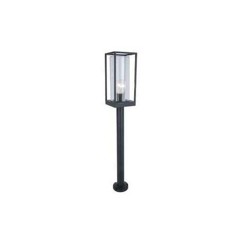 Lutec Flair czarny mat e27 wys.75cm. ip44 lampa ogrodowa stojąca 7288801012 (6939412079950)