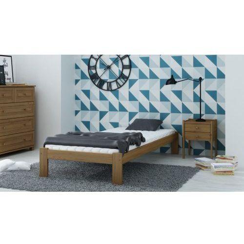 łóżko Drewniane Irys 90x200 Eko Dąb Marki Meble Magnat Zimowe