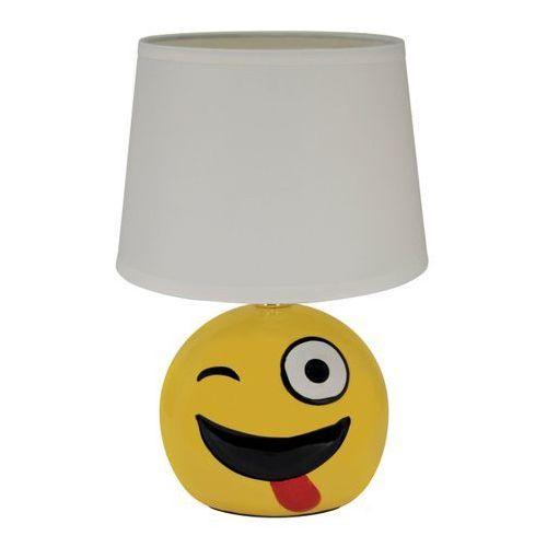 Lampa stołowa Struhm Emo 1 x 40 W E14 biała (5901477300042)