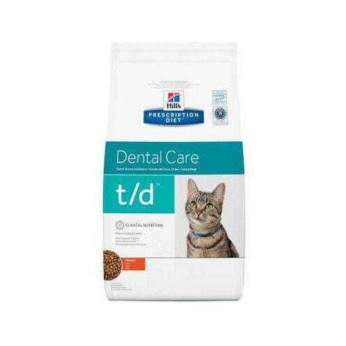 Hills prescription diet Hill's prescription diet t/d feline 5 kg - darmowa dostawa od 95 zł!