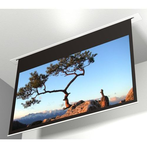 Ekran elektryczny 180x102cm contour 18/10 - matt white marki Avers