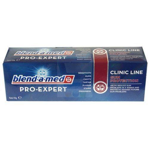 Procter&gamble Blend-a-med pro-expert clinic line ochrona dziąseł pasta do zębów 75 ml