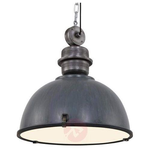 Steinhauer Bikkel XXL Lampa Wisząca Siwy, 1-punktowy - Przemysłowy - Obszar wewnętrzny - XXL - Czas dostawy: od 6-10 dni roboczych (8712746106718)