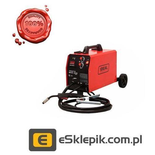 Ideal PRAKTIK MIG 200 IGBT - Półautomat MIG/MAG