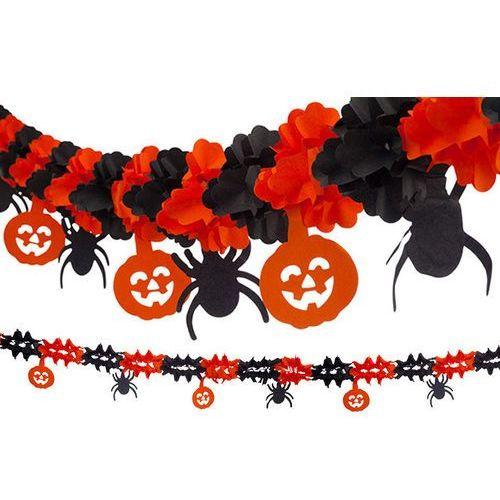 Girlanda na Halloween Dynie i Pająki - 1 szt.