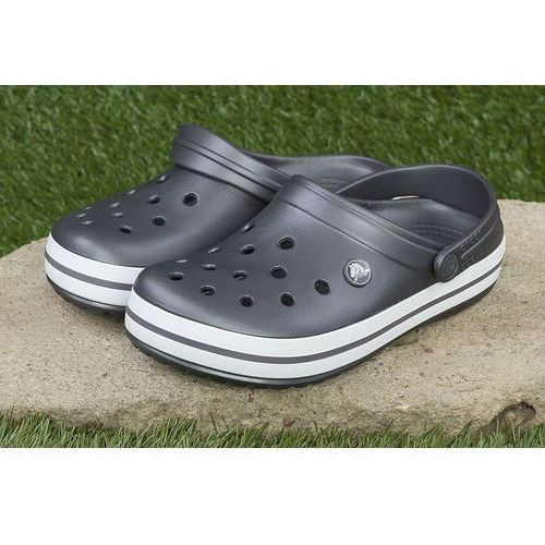 Crocs Klapki crocband™ clog graphite 11016-04d