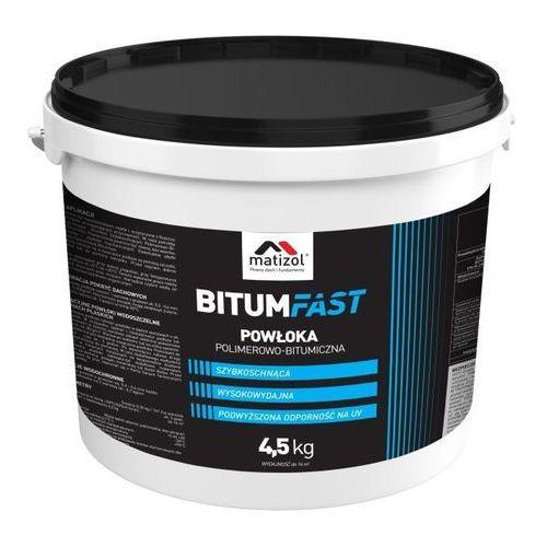 Matizol Szybka powłoka bitumiczna bitumfast 4,5 kg (5908238615490)