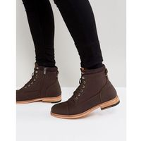 rosciolo lace up boots in brown - brown marki Call it spring
