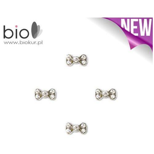 Ozdoby metalowe do paznokci  – x4694 - 4 szt marki Neonail