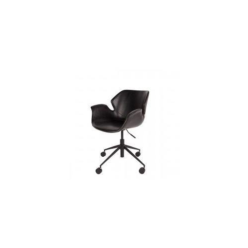 Krzesło biurowe nikki czarne - marki Zuiver