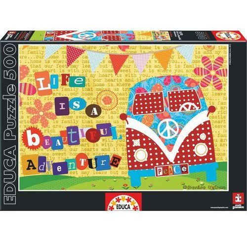 Educa Life is a beautiful adventure puzzle 500
