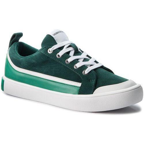 Trampki CALVIN KLEIN JEANS - Dino S1760 Green/White/Green, w 6 rozmiarach