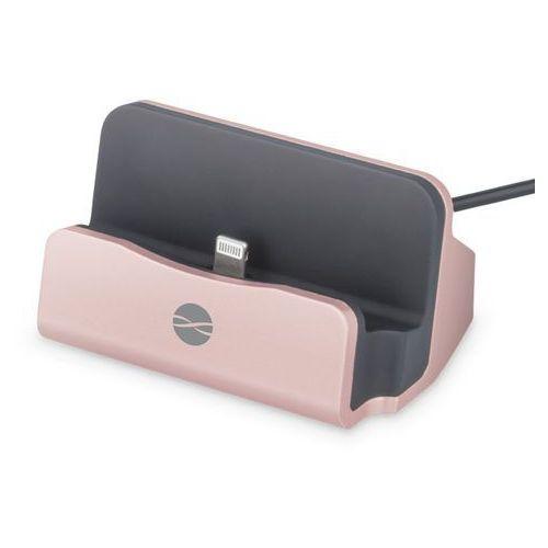 Stacja dokująca Forever Stacja dokująca do iPhone DS-01 różowo-złota (GSM023489) Darmowy odbiór w 21 miastach!