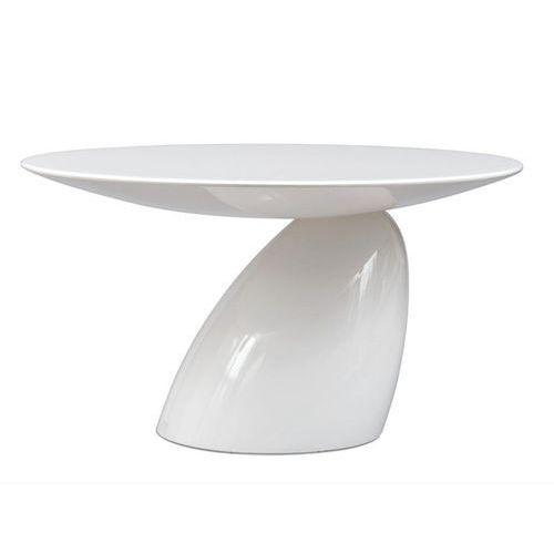 King home Stół fungo grande biały - włókno szklane