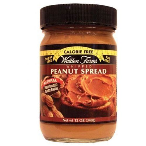 WALDEN FARMS Peanut Spreads - 340g - Whipped Peanut Spread