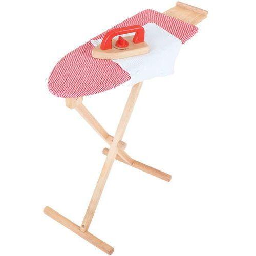 Bigjigs Toys Drewniana deska do prasowania z żelazkiem