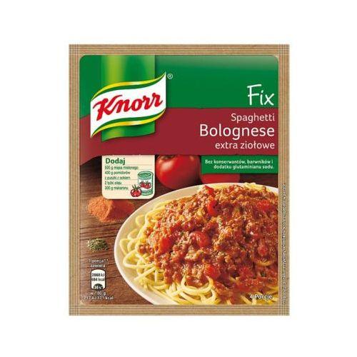 Knorr 48g fix spaghetti bolognese extra ziołowe