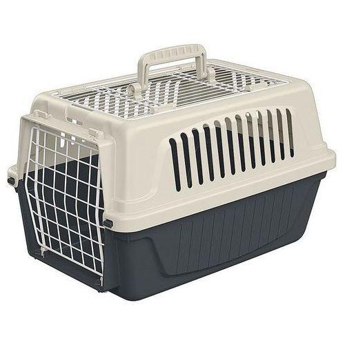 Ferplast atlas 5 open transporter otwierany od góry dla kotów i małych psów 41,5x28x26cm