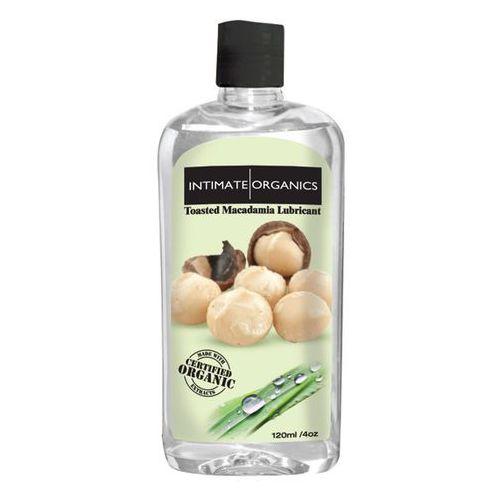 Intimate organics Smakowy żel nawilżający - macadamia nut lube 120 ml orzechy macadamia