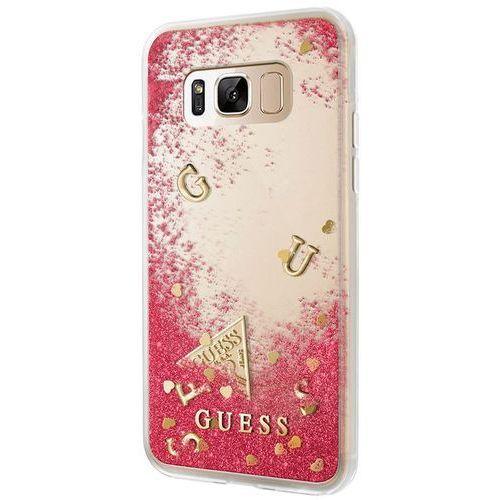 Guess GUHCS8GLUFLRA Samsung Galaxy S8 (czerwony) - produkt w magazynie - szybka wysyłka!