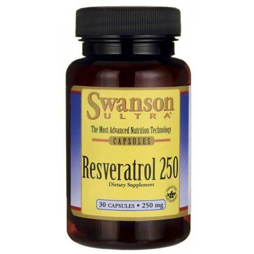 Swanson Resweratrol korzeń rdest japoński 250mg resveratrol 30 kapsułek