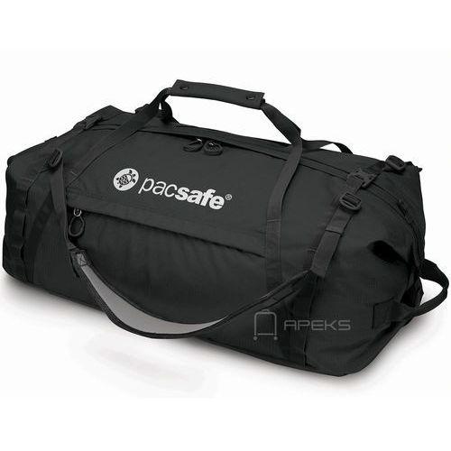 Pacsafe Duffelsafe AT80 torba podróżna na ramię 68 cm / plecak / czarna, kolor czarny