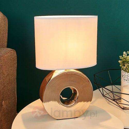 eye lampa stołowa złoty, 1-punktowy - klasyczny - obszar wewnętrzny - eye - czas dostawy: od 4-8 dni roboczych marki Honsel