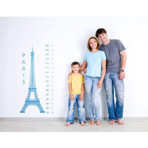 Miarka dla dzieci 81 PARIS wieża Eiffla - funkcjonalna naklejka
