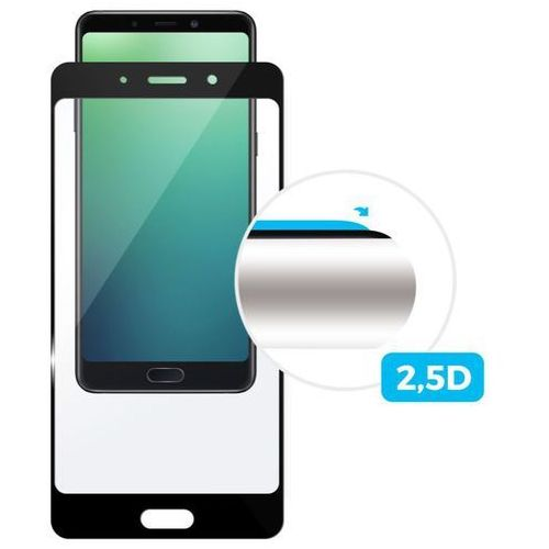 Fixed Ochranné tvrzené sklo Full-Cover pro Xiaomi Pocophone F1, černé, 0.33 mm FIXGF-347-BK