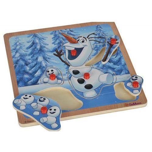 Eichhorn Frozen puzzle z uchwytami olaf (4003046033731)