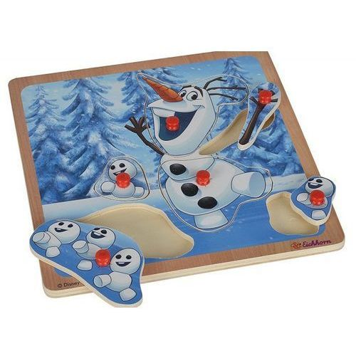 Frozen puzzle z uchwytami olaf marki Eichhorn