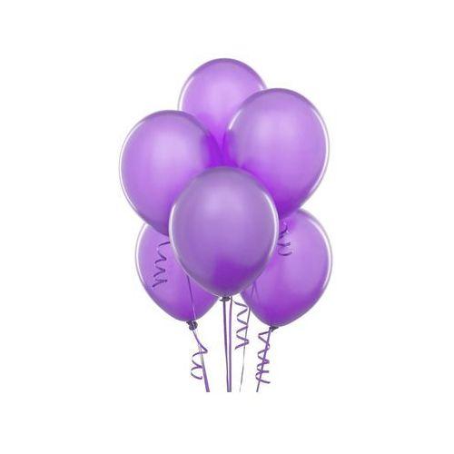 Balony lateksowe pastelowe fioletowe - średnie - 100 szt. marki Belball