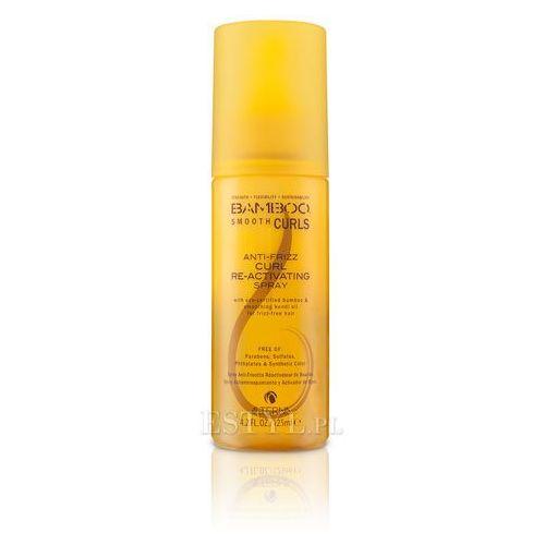 Alterna  bamboo smooth curls re-activating spray - spray wygładzający do loków 125ml