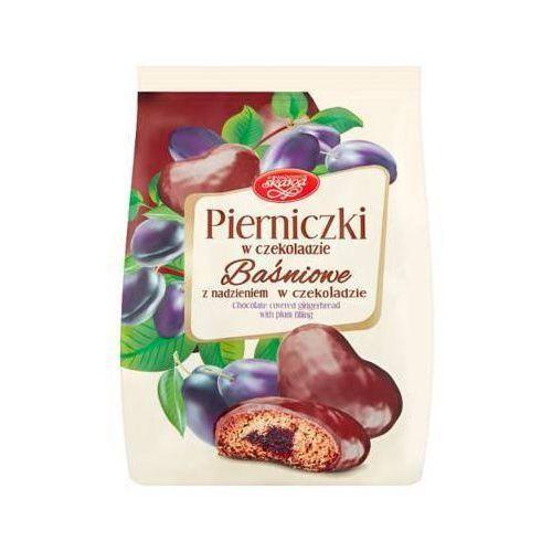 150g pierniki baśniowe śliwkowe w czekoladzie marki Skawa