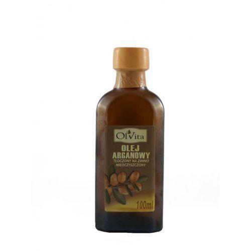 Olej arganowy tłoczony na zimno nieoczyszczony 100ml - Olvita, 1614