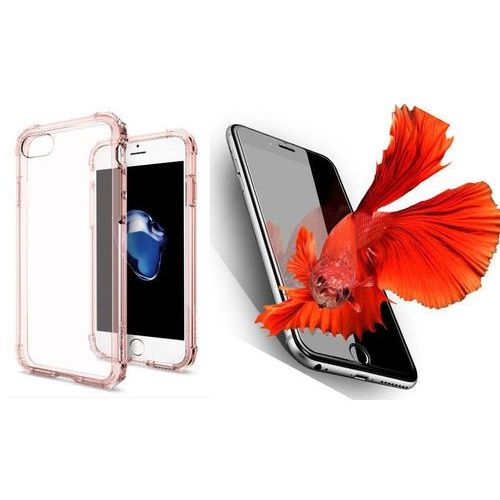 Zestaw | Spigen SGP Crystal Shell Rose Crystal | Obudowa + Szkło ochronne Perfect Glass dla modelu Apple iPhone 7