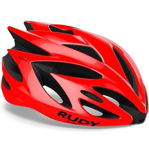 Rudy project rush kask rowerowy czerwony l   59-62cm 2018 kaski rowerowe