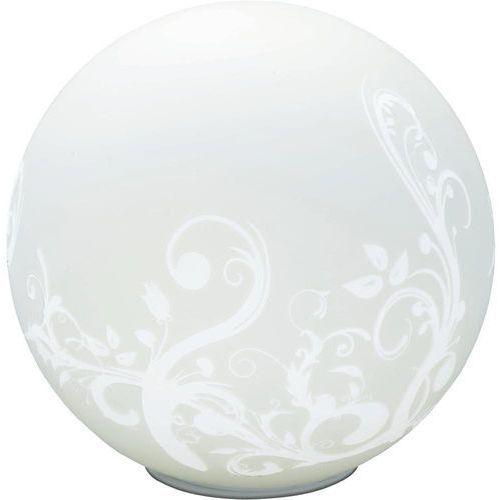 Lampa stołowa Brilliant 10548/05, E27, 1 x 60 W, 230 V, (ØxW) 25 cmx25 cm, biały (4004353106699)