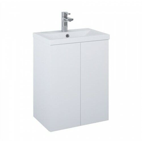 ELITA SET szafka + umywalka Kido 50 2D white matt 168089, kolor biały