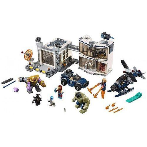 Lego SUPER HEROES Bitwa w kwaterze avengersów avengers compound battle 76131