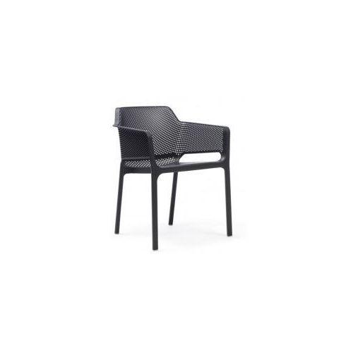 Krzesło Net Relax grafitowe, 81733