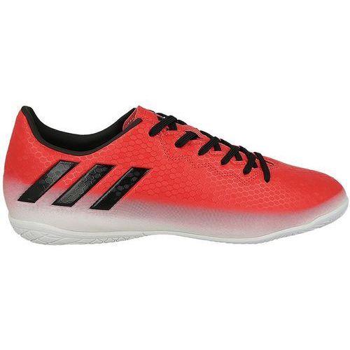 Buty do piłki nożnej Adidas MESSI 16.4 IN (BA9026) - czerwony/biały