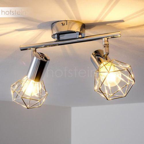Globo xara lampy sufitowe listwy chrom, 2-punktowe - nowoczesny - obszar wewnętrzny - palmira - czas dostawy: od 6-10 dni roboczych marki Hofstein
