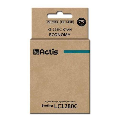 Actis Tusz kb-1280c (do drukarki brother, zamiennik lc1280c standard 19ml cyan)