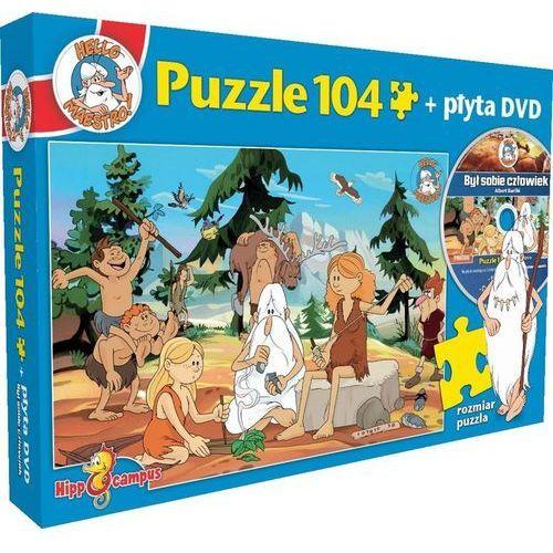 Był sobie człowiek. Prehistoria Puzzle + DVD (5908259811925)
